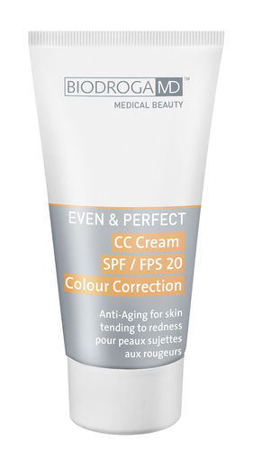 Even&Perfect CC Cream For Skin Tending To Redness 40 ml
