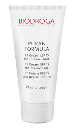 Puran Formula BB-Cream SPF 15 for impure skin 01 sand