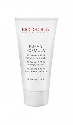 Puran Formula BB-Cream SPF 15 for impure skin 02 Honey