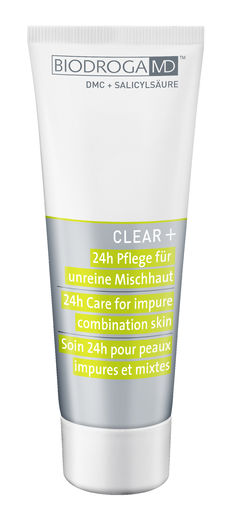 Clear+ 24h Care for Impure Combination Skin 75 ml